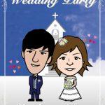 雲の中で結婚式!初めての結婚式ウェルカムボード作成!