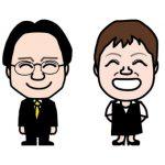 税理士事務所のスタッフ名刺に似顔絵!