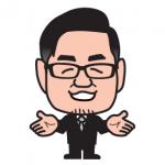 ウェブ制作会社の社長さんの似顔絵名刺をバージョンアップ!