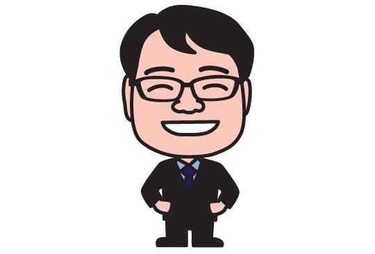 税理士事務所スタッフの似顔絵名刺