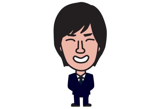 税理士事務所スタッフの似顔絵名刺3